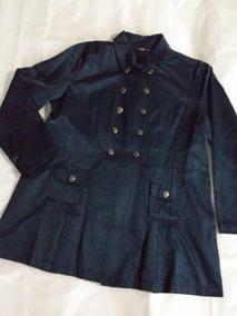 Casaco Azul Marinho Plus Size