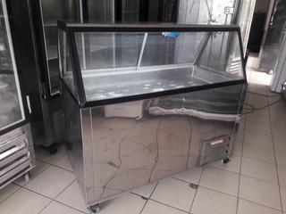 Urna Fria Con Congelador 2en1 Pollo, Pescado, Mariscos, Ect.