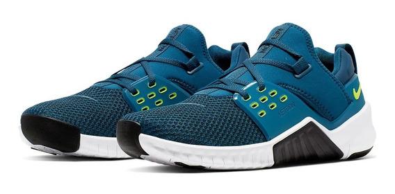 Tênis Nike Free Metcon 2 Crossfit Blue Oil