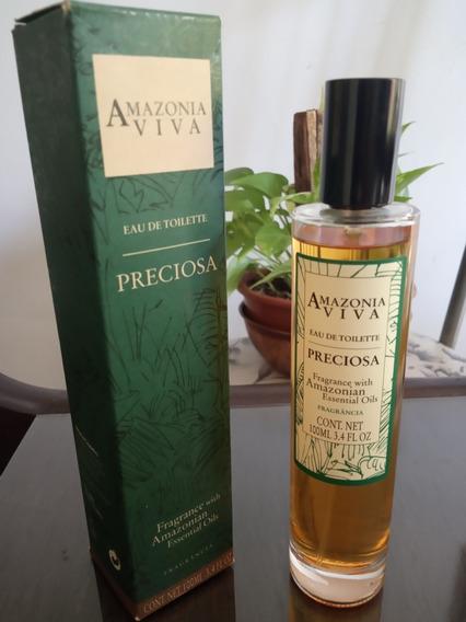 Perfume Preciosa Amazônia Viva (raro E Descontinuado)