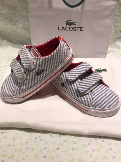 Zapatillas Lacoste Niña Original Importado