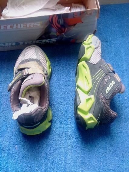 Zapatos Deportivos Para Niños Skechers Originales Talla 31