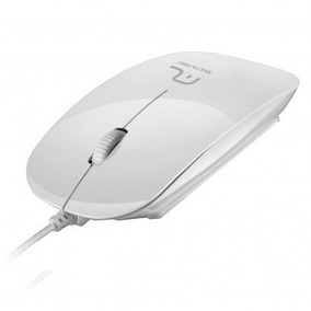 Mouse Optico Multilaser Branco Com Usb 3.0