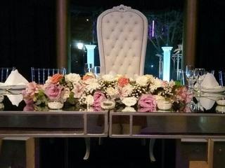 Camino De Mesa Con Flores! Eventos