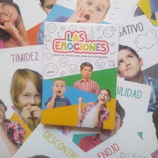 Juego De Cartas Didácticas Las Emociones - 4 Formas De Jugar
