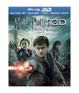 Blu-ray Harry Potter & The Deathly Hallows 7.2 Box Collectio