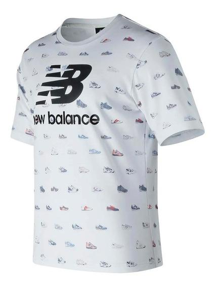 Remera New Balance Mt81565wt Hombre