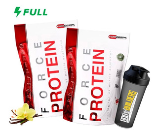 Kit 2x Whey Force Protein - 900g Cada - Procorps