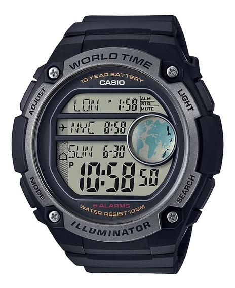 Reloj Casio Iluminator Ae-3000w-1avcf Original Ghiberti