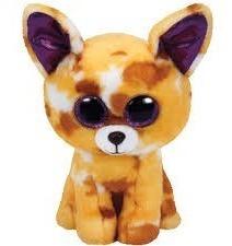 Ty Beanie Boos Perro Chihuahua Mediano Peluche Pablo 13 Cm