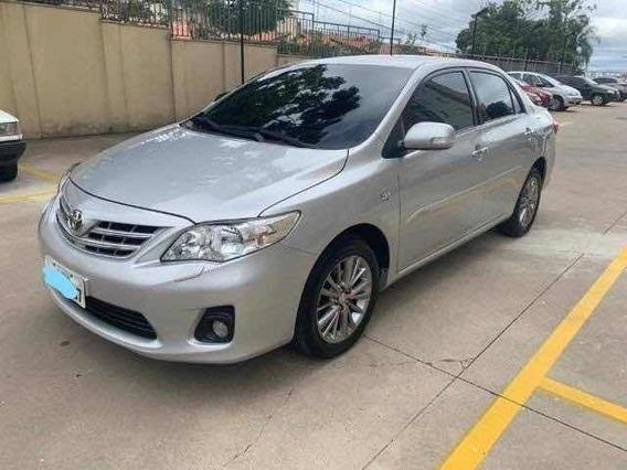 Toyota Corolla Altis 2.0 Flex 2012 Prata Revisada