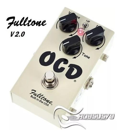 Pedal Ocd Fulltone V 2.0 C/ Nf-e & Garantia - Built In Usa