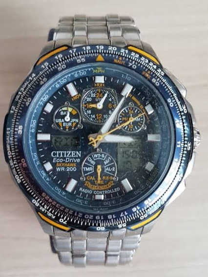 Relógio Citizen Eco-drive Blue Angels Skyhawk Jy0040-59l