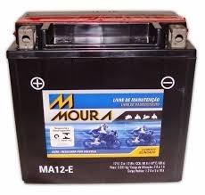 Bateria Quadriciclo Fourtrax Moura Ma12-e Honda Trx 350/420