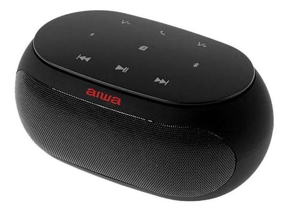 Caixa De Som Aiwa Aw31fm Bluetooth Hifi Sound Rádio Fm Preto
