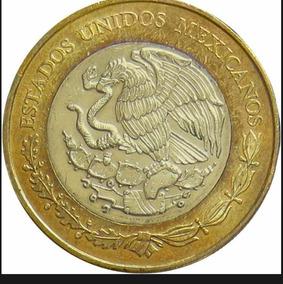 Moeda 20 Pesos Octávio Paz