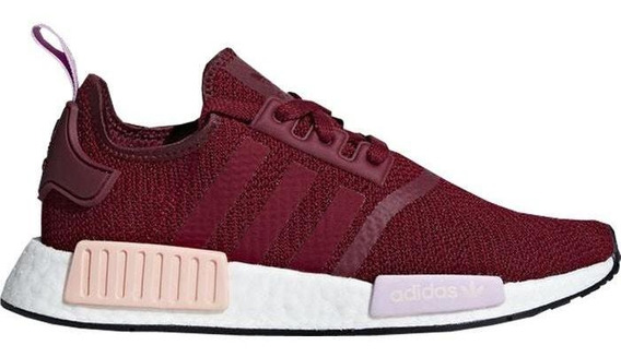 Zapatillas adidas Originals Nmd R1 Bordo Dama