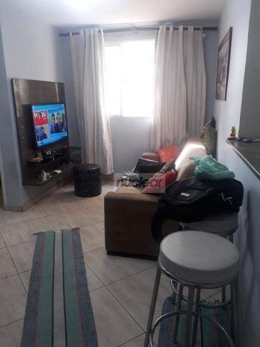 Apartamento Com 2 Dormitórios À Venda, 44 M² Por R$ 196.000,00 - Jardim Santa Terezinha - São Paulo/sp - Ap2007