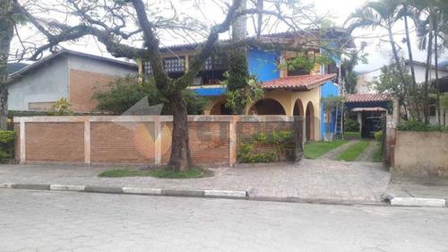 Imagem 1 de 21 de Casa Com 4 Dormitórios Para Alugar, 250 M² Por R$ 7.000,00/mês - Jardim Capricórnio - Caraguatatuba/sp - Ca0666