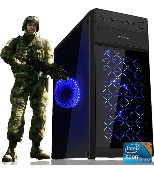 Pc Gamer Workstation Intel Xeon 5460 Quad Core Com Ssd
