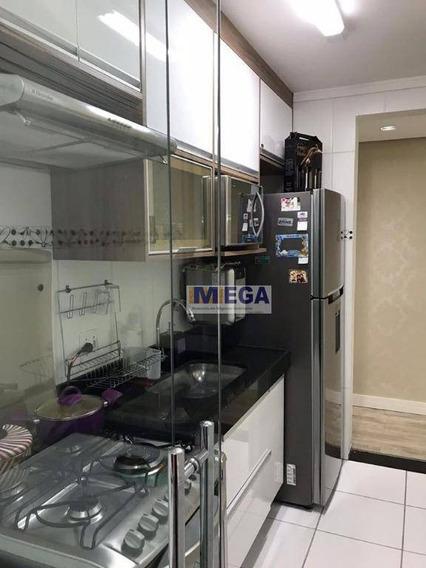 Apartamento Com 2 Dormitórios À Venda, 60 M² - Jardim Nova Europa - Campinas/sp - Ap3943