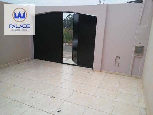 Casa Com 2 Dormitórios, 75 M² - Venda Por R$ 191.000,00 Ou Aluguel Por R$ 950,00/mês - Residencial Santa Luzia - Charqueada/sp - Ca0773