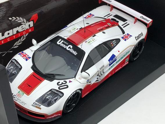 Mclaren F1 Gtr West Competmon 1996 1:18 Ut Models Raridade!