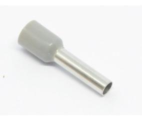 100 Pçs - Terminal Tubular Simples Tipo Ilhos 2,5mm