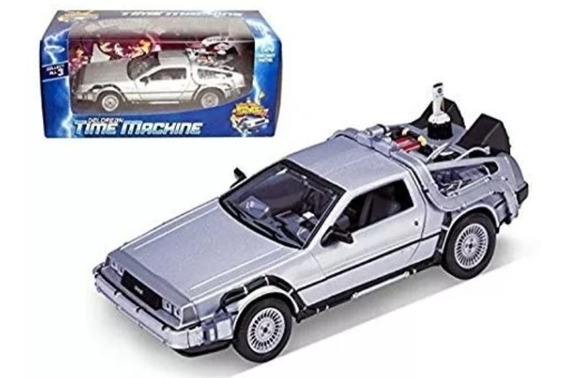 Delorean Back To The Future 2 Diecast Metal Welly 1/24