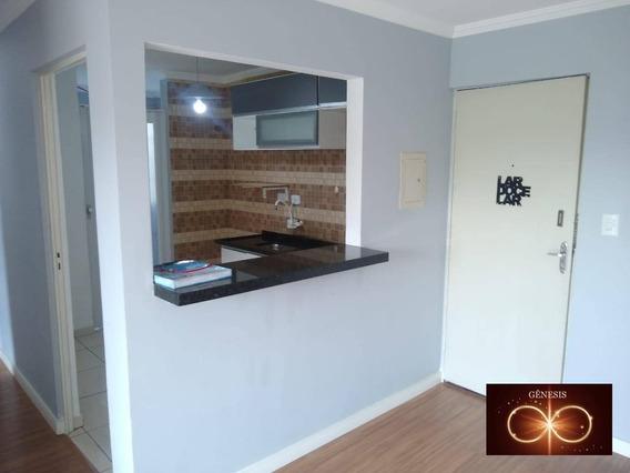 Apartamento Com 2 Dormitórios Para Alugar, 50 M² Por R$ 1.050,00/mês - Jardim Brasília - São Paulo/sp - Ap0074