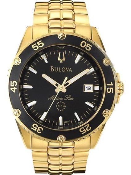 Relógio Bulova Masculin Marine Star Wb30757u Original Barato
