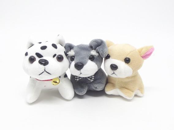 15 Chaveiros Pelúcia Cachorros - Adote Cachorrinho