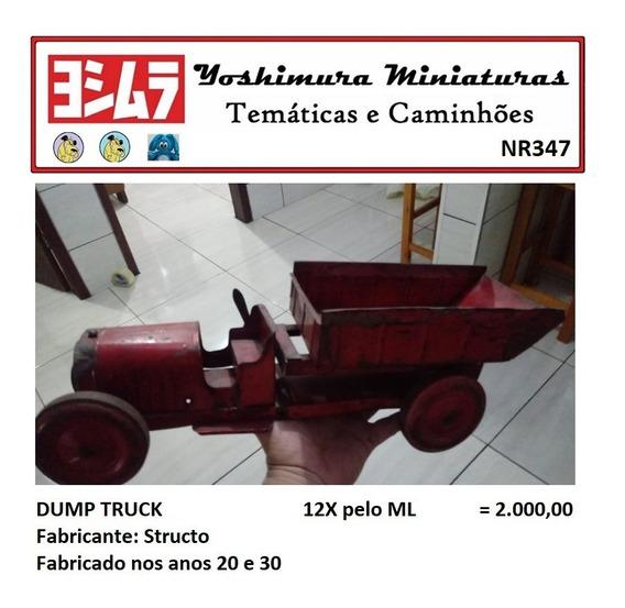 Basculante Dump Truck Structo Anos 20