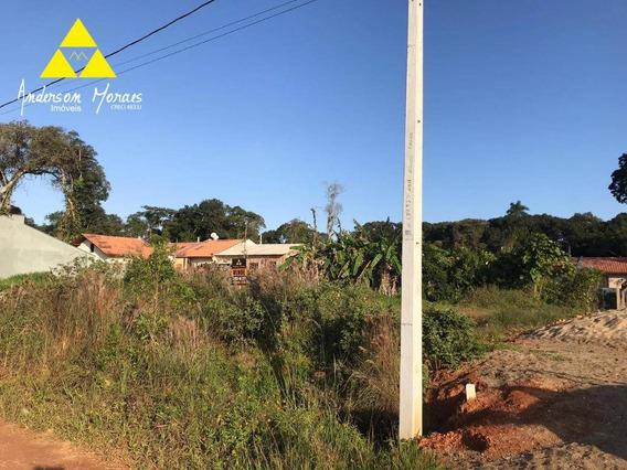 Terreno À Venda, 348 M² Por R$ 70.000 - Quinta Dos Açorianos - Barra Velha/sc - Te0190