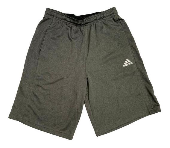 Short Deportivo adidas Original Gris Carbón