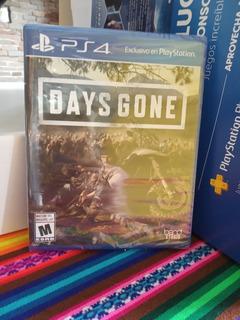 Days Gone Ps4 Fisico (caja Cerrada)