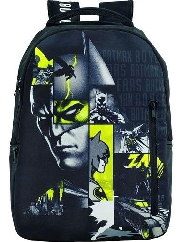 Mochila De Costas Juvenil Escolar Batman T7 Xeryus 9120