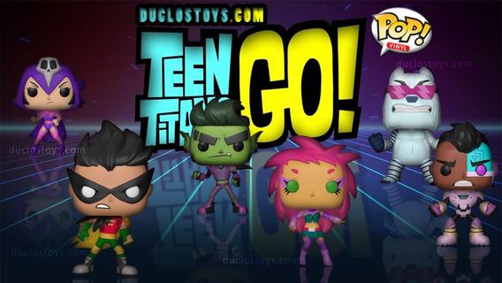 Funko Pop Tv: Teen Titans Go! - Robin