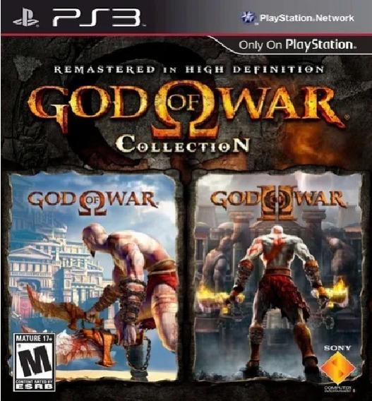 God Of War Collection Jogo Ps3 Em Oferta