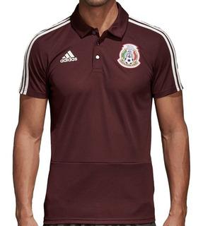 Playera Polo adidas Selección Mexicana Original (cm0499)