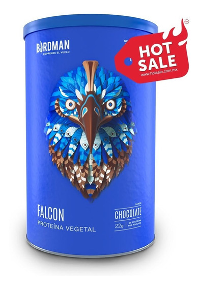 Proteína Vegetal Orgánica Falcon Protein 1.170kg Birdman