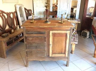 Hermoso Mueble Antiguo Coqueta Credenza Cómoda Gabinete