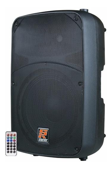 Caixa De Som Ativa Staner 15 Usb Bluetooth Sr 315a Sr315