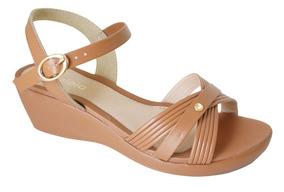 d44a37df9b Sandalia Anabela Com Tiras Em Feminino Azaleia - Sapatos com o ...