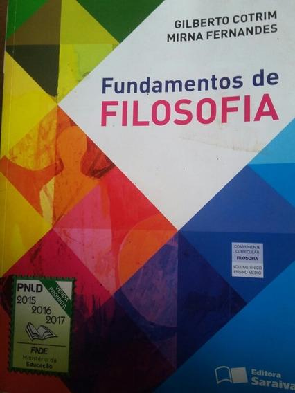 Fundamentos De Filosofia Gilberto Cotrim Mirna Fernandes