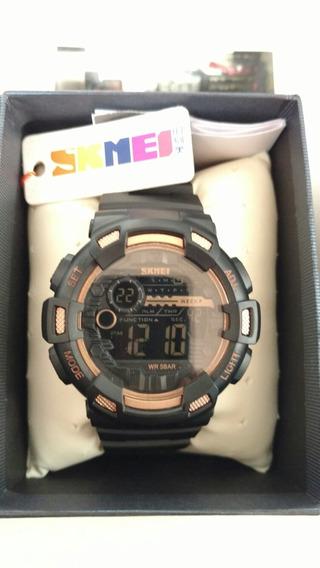 Relógio Skmei Digital 1243 Dourado