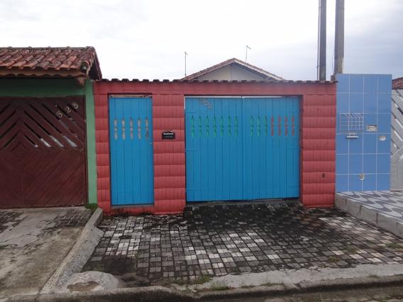 Casa No Balneário Flórida Mirim Em Mongaguá!!! Ref:0206 E