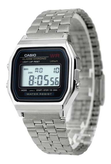 Relógio Casio Unissex Vintage -a159w-n1d- Original - S Caixa