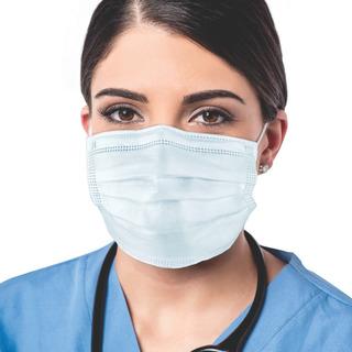 Máscara Cirúrgica Descartável Tripla Camada Com Filtro 50un