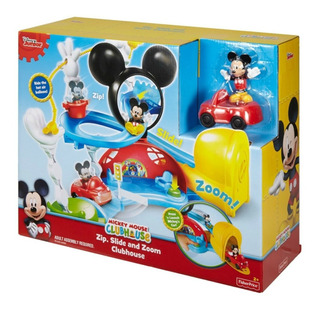 Mickey Clubhouse - Zip Slide N Zoom - Pista - Fisher Price
